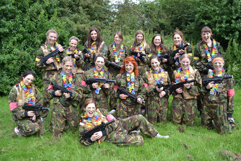 Stag and Hen party activities Laser Tag