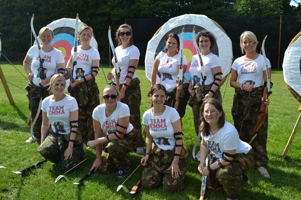 Stag and Hen party activities Archery