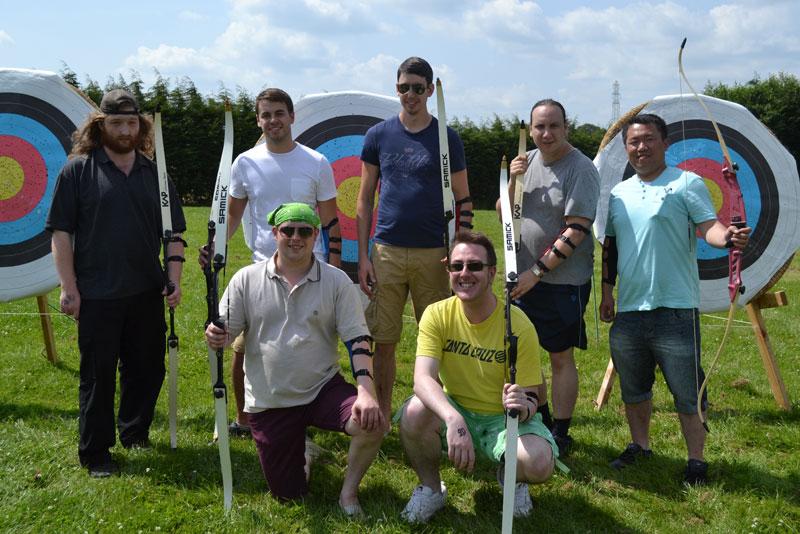 Archery Training at Wild Park Derbyshire