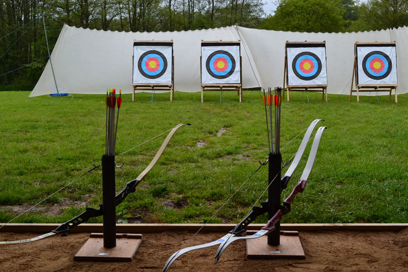 Archery at Wild Park Derbyshire