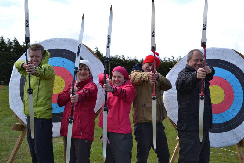 Archery Lessons at Wild Park Derbyshire