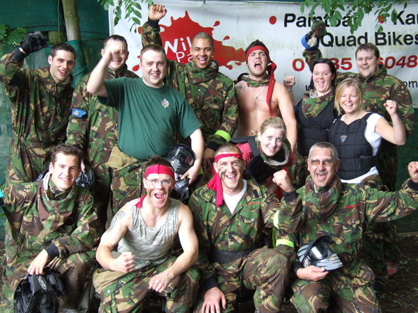 Corporate Paintballing