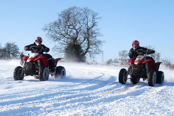 Stag and Hen party activities Quad Biking