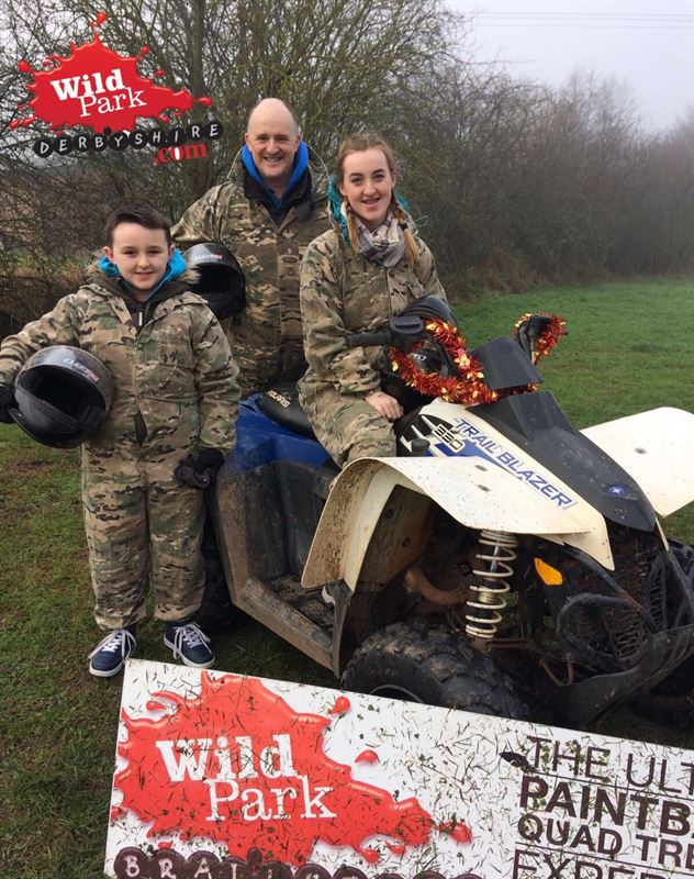 Quad Biking at Wild Park Derbyshire