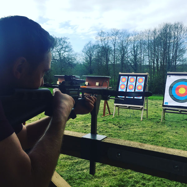 crossbow Shooting at Wild Park Derbyshire